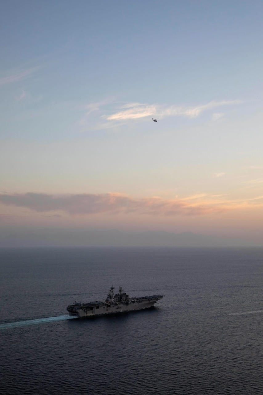 Makin Island Amphibious Ready Group and Embarked 15th Marine Expeditionary Unit Enter Arabian Gulf