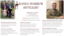 KANZA Warrior Spotlight May 2021
