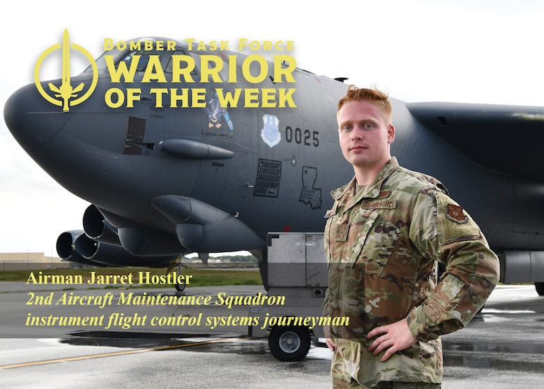 Graphic of a U.S. Air Force Airman for a BTF-21 Warrior of the Week Award