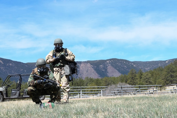 Two reservists participate in 4-day training exercise.