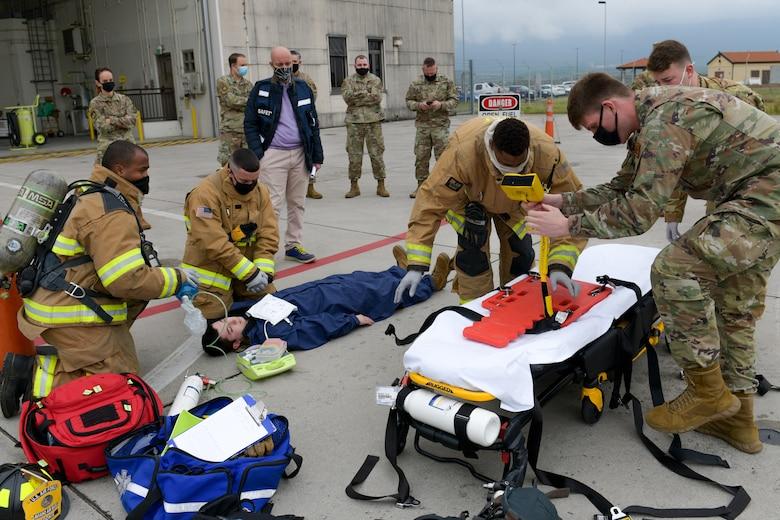 31 MXS participates in readiness exercise