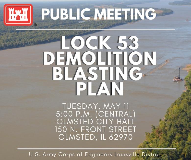 Lock 53 Public Meeting