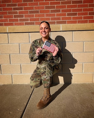 U. S. Air Force Airman 1st Class Jessica Ramsay is a Paralegal for the 5th Bomb Wing's Judge Advocacy Office at Minot Air Force Base, North Dakota.