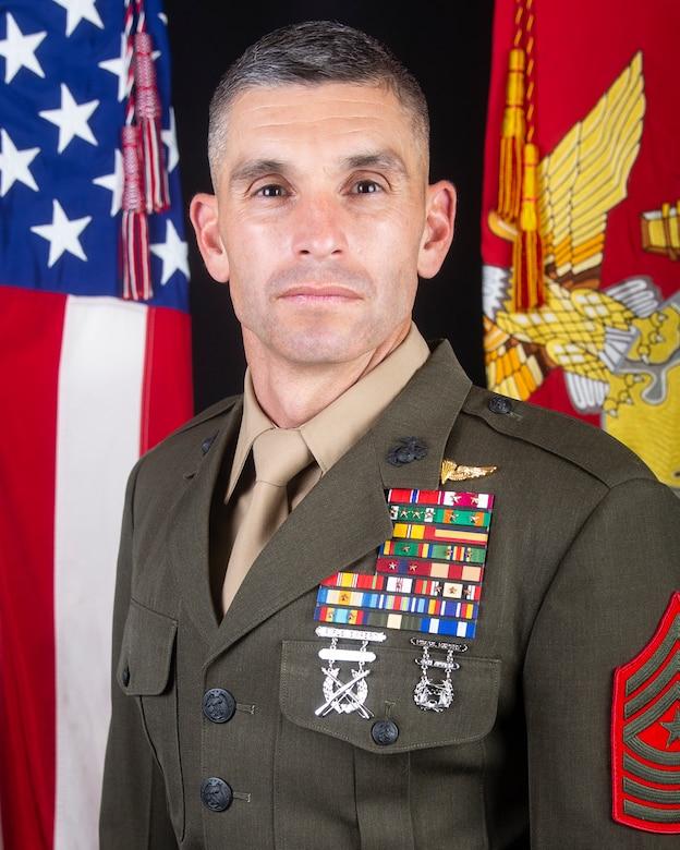 Sergeant Major Anthony J. Loftus, U.S. Marine Corps Forces Special Operations Command sergeant major