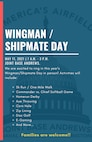 We are excited to ring in this year's Wingman/Shipmate Day in person!