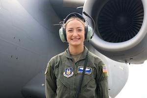 Staff Sgt. Amanda McMillan, 445th Aeromedical Evacuation Squadron aeromedical evacuation technician, is the 445th Airlift Wing May 2021 Spotlight Performer. (U.S. Air Force photo/Tech. Sgt. Joel McCullough)