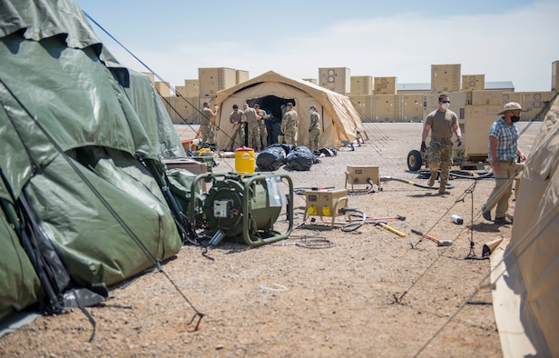Holloman hosts assessment of collective protection shelters for Air Force