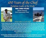 Our deckplate leader of the week is Chief Petty Officer Christopher Valdes, a boatswains mate aboard the U.S. Coast Guard Cutter Mohawk.
