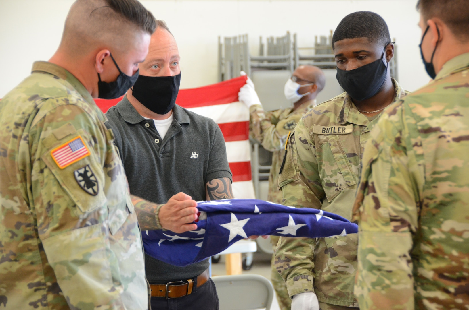 Funeral Honors Program hosts training for active-duty Soldiers