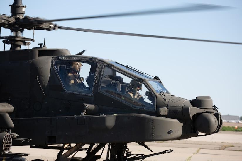 1st Attack Reconnaissance Battalion, 211th Aviation Regiment AH-64 Apache helicopter.