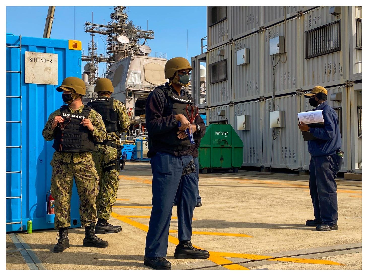 USS Shiloh(CG-67) Anti-Terrorism Certification Event