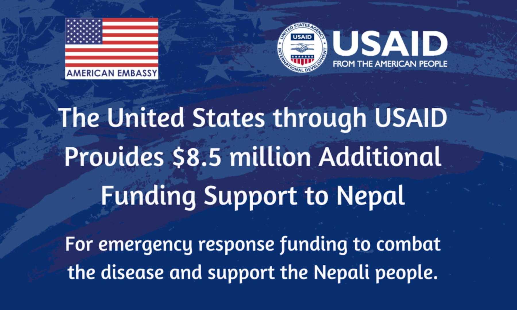 Funding Support to Nepal Amidst the Second Wave of COVID-19
