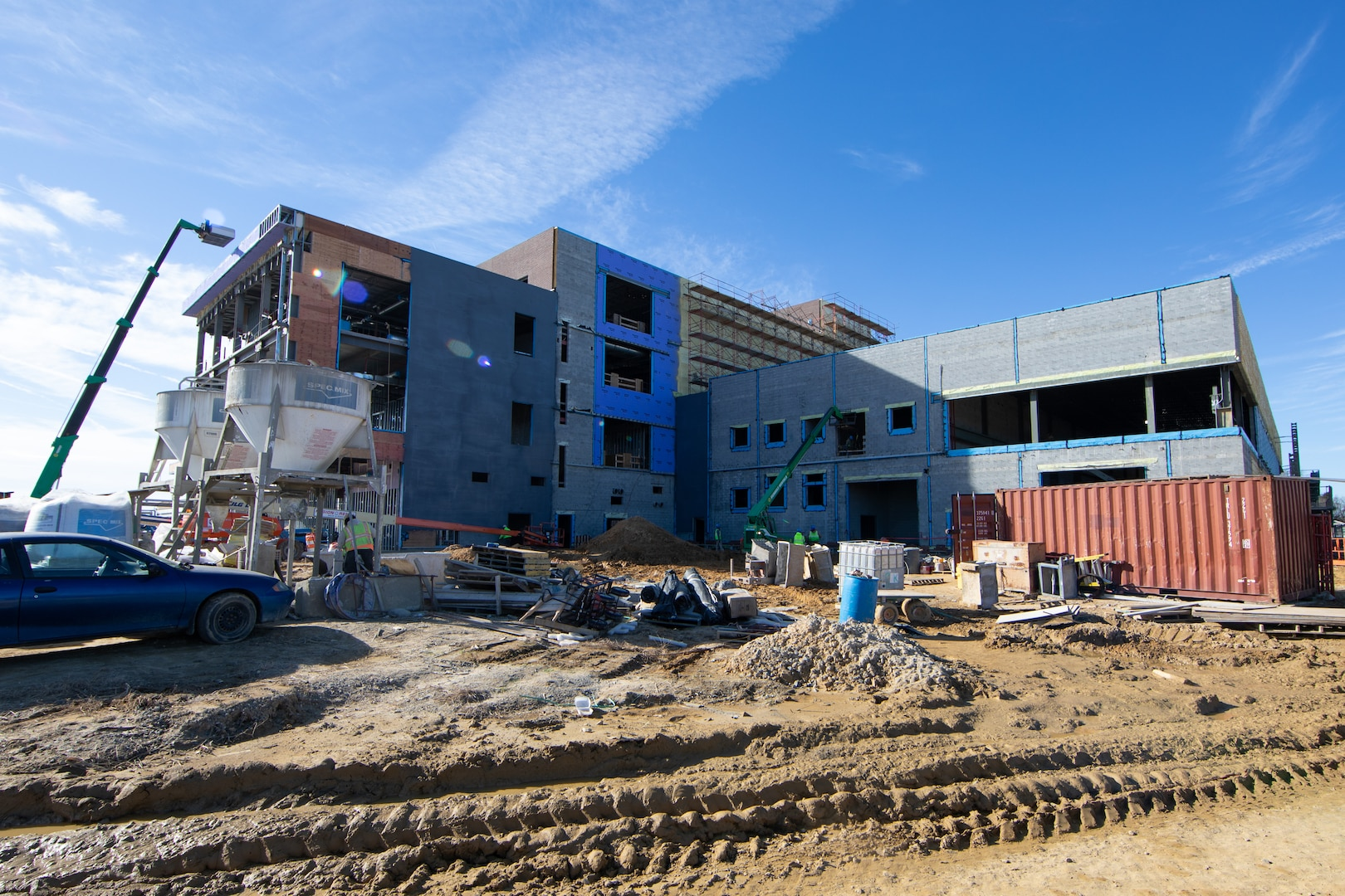 Norfolk Naval Shipyard's (NNSY) new multi-story, multifaceted training building marks the shipyard's biggest step yet in the realization of Naval Sea Systems Command's (NAVSEA) Shipyard Infrastructure Optimization Plan.
