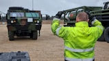 APS-2 equipment, vehicles issued to units in Estonia for DEFENDER-Europe 21