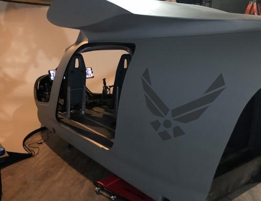 BETA's ALIA a simulator in BETA's Washington, D.C. facility is a fully immersive eVTOL flight simulator and training facility. (Photo courtesy of BETA)