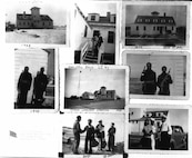 A series of photos taken during World War II of the African-American crewman stationed at LBS Tiana during the war.
