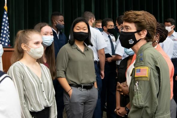 AMC Command Team Visits MacDill Air Force Base