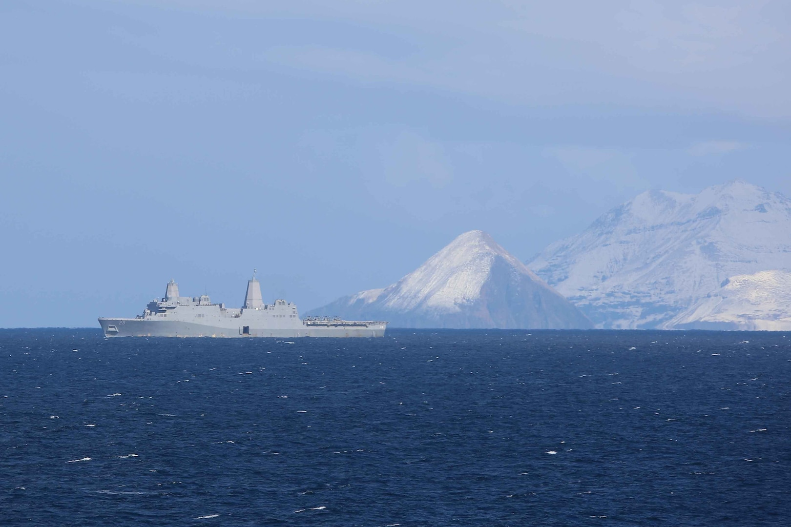 Makin Island ARG, 15th MEU Arrive off Alaska for Northern Edge