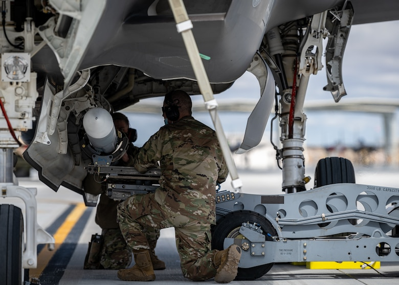 A photo of F-35 Lightning II maintenance