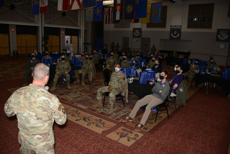 The 931st Air Refueling Wing at McConnell Air Force Base, Kansas, hosted a tour for the 352nd Recruiting Squadron to highlight the mission, local community and the need for more people as the unit is growing with the recently added KC-46 mission