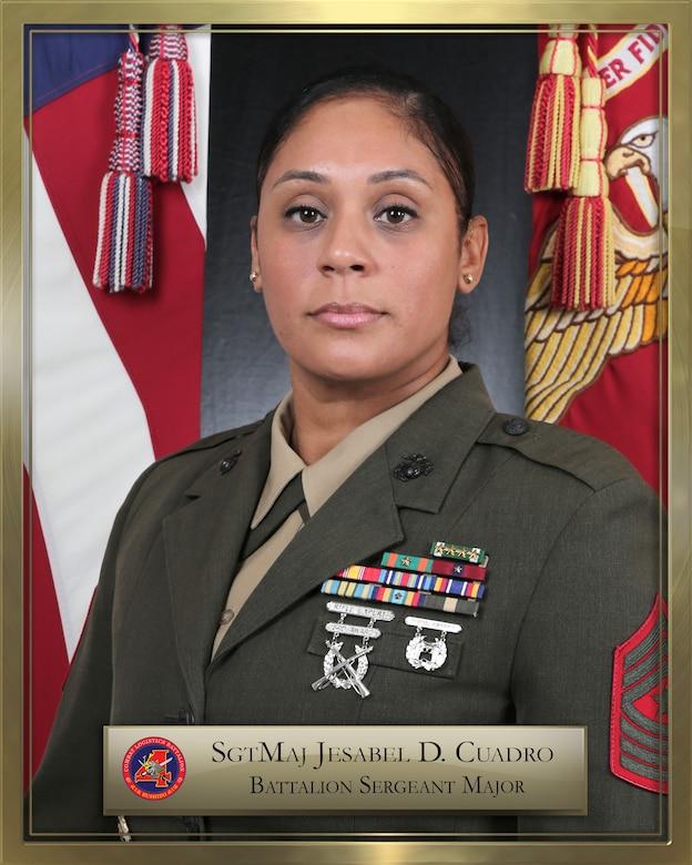 SGTMAJ Jesabel D. Cuadro official biography