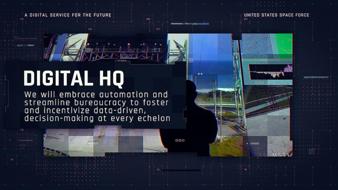 Vision for Digital Service - Digital HQ Graphic