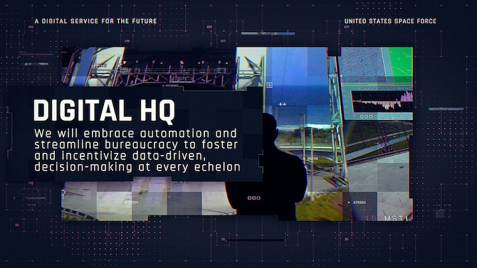 Space Force unveils its 'vision for a digital service'