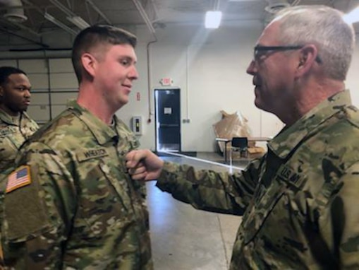 Traverse City, Mich., native serves as NCO in Fort Bliss Mobilization Brigade