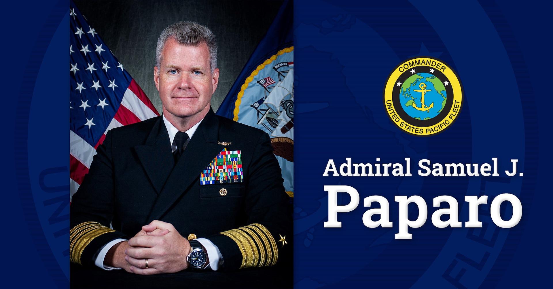 Paparo takes helm as U.S. Pacific Fleet commander