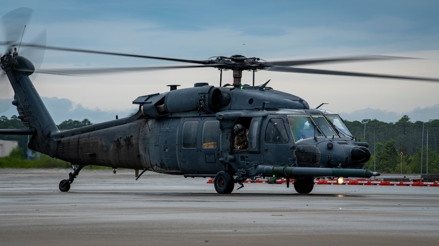 MH-60G Pave Hawk helicopter at t Hurlburt Field, Florida