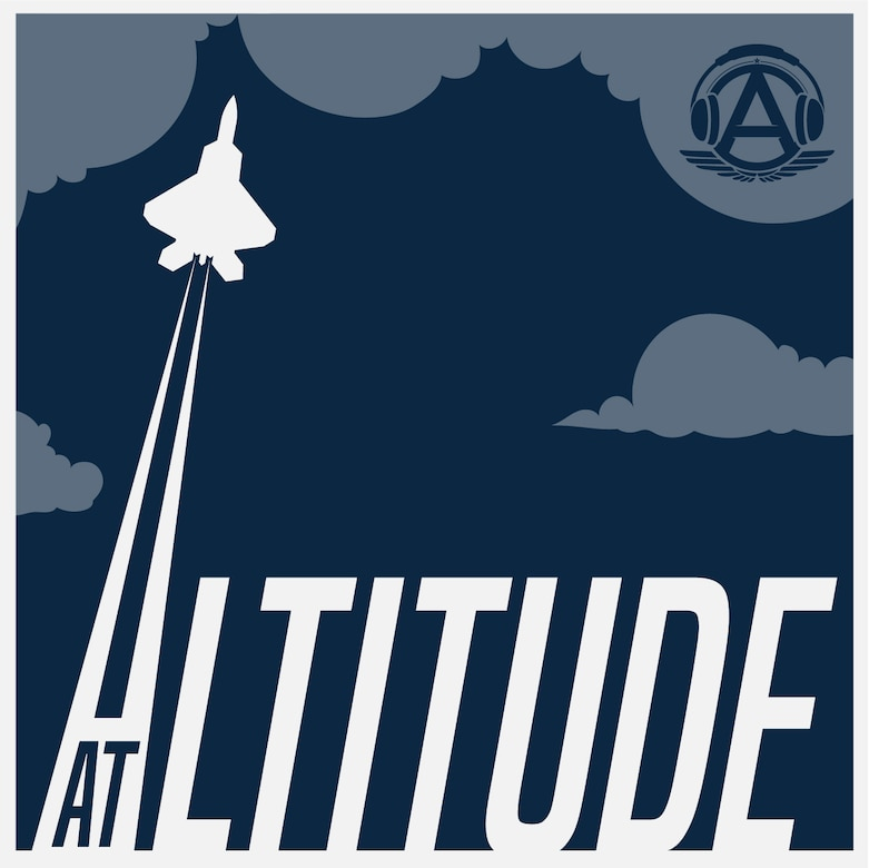 Logo for the Official Podcast of Airman Magazine