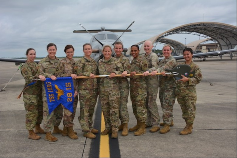 The 655th Intelligence, Surveillance and Reconnaissance Wing's 28th Intelligence Squadron based at Hurlburt Field, Florida, is making history for the wing as it is led entirely by women. Under the command of Lt. Col. Elisabeth Applegate, the 28th IS is home to more than 70 Reserve Barracudas, specializing in providing airborne intelligence, surveillance and reconnaissance operators to special operations forces worldwide.
