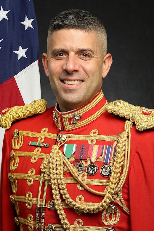 Major Douglas R. Burian, Executive Assistant to the Director, Official Portrait