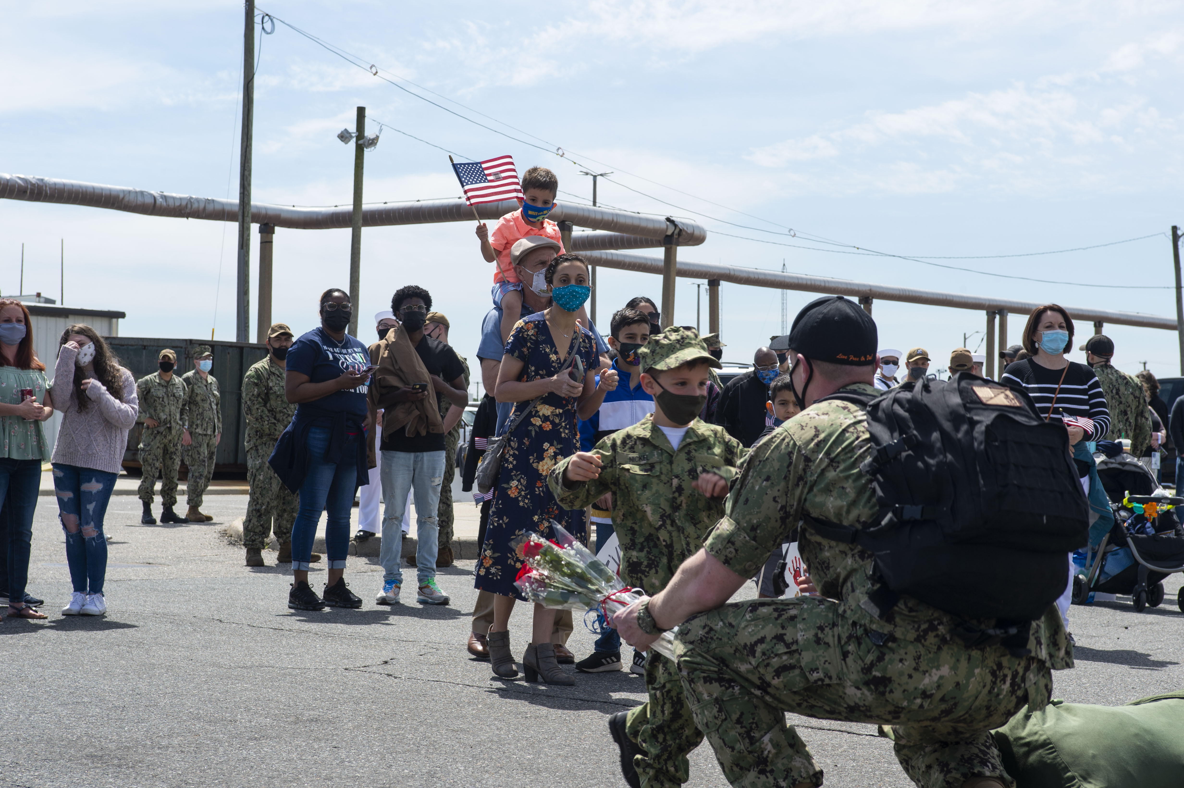 New Hampshire returns from a six-month deployment that supported national security interests and maritime security operations at sea.