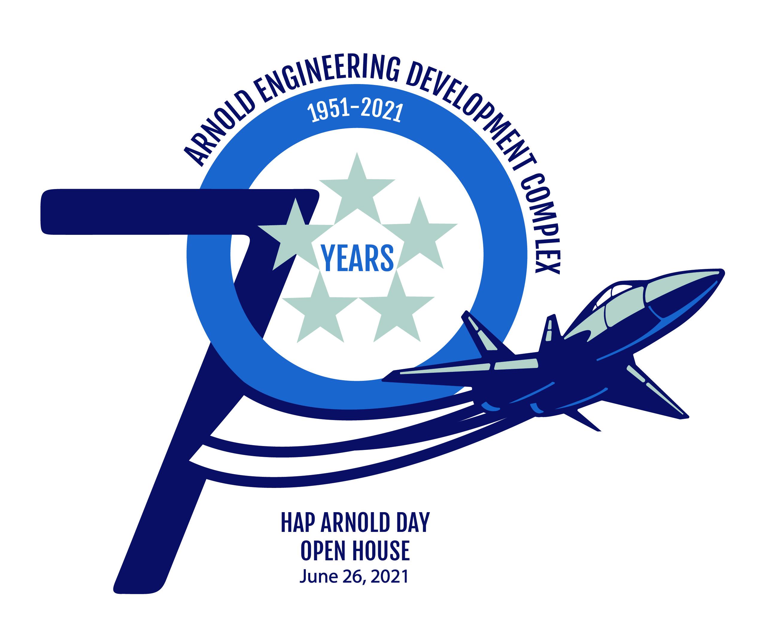 AEDC Hap Arnold Day logo