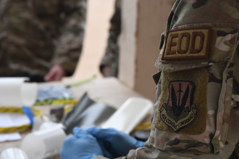 A picture of the EOD patch