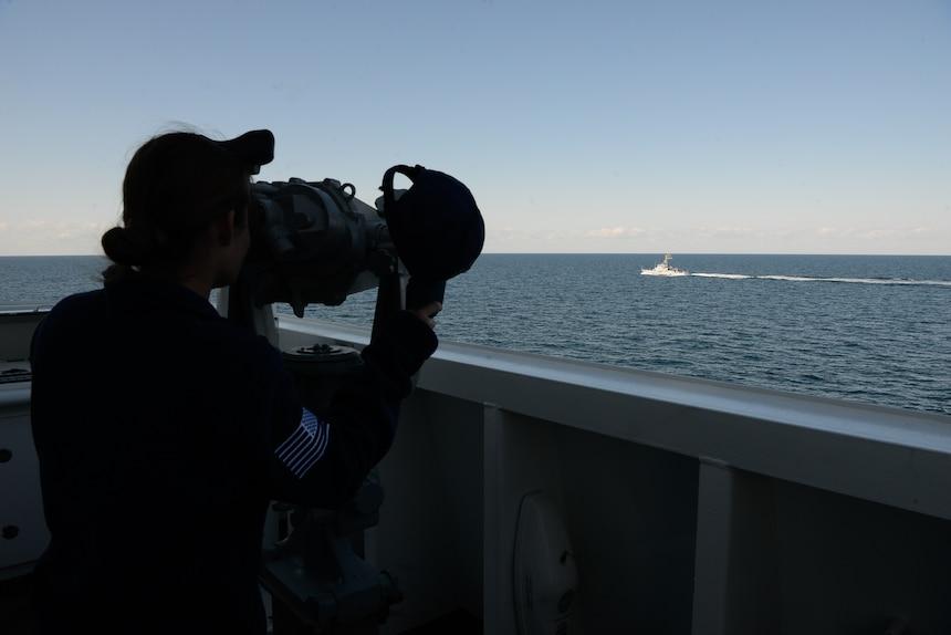 USCGC Hamilton (WMSL 753); Black Sea
