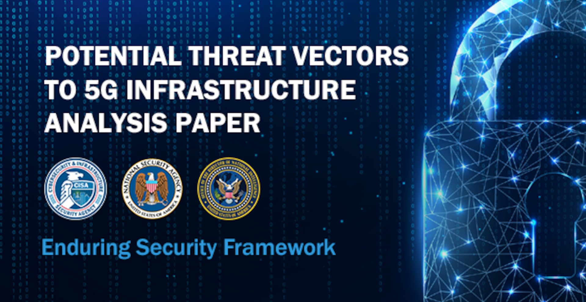 NSA Potential Threat Vectors to 5G Infrastructure Analysis Paper