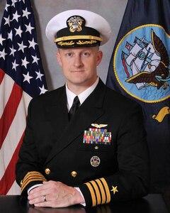 Studio portrait of Capt. Richard G. Burgess