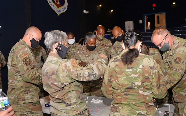 Gladiators in the 960th Cyberspace Wing gathered here and virtually April 26-30, to participate in the 2021 Leadership Summit.