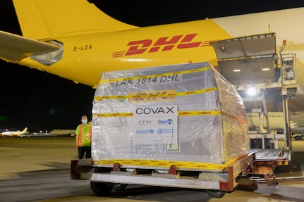 First Tranche of U.S. Pfizer-BioNTech Vaccines Delivered to the Philippines