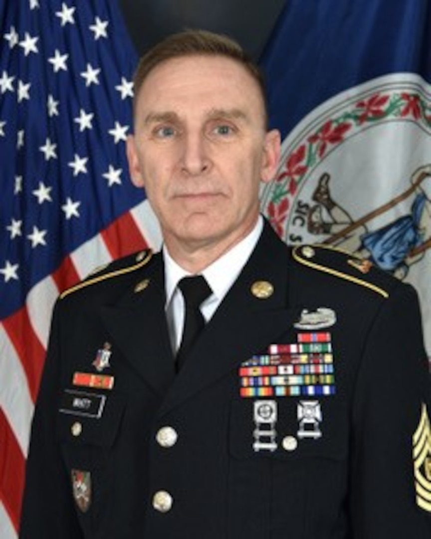 Whitt selected as new 329th RSG command sergeant major