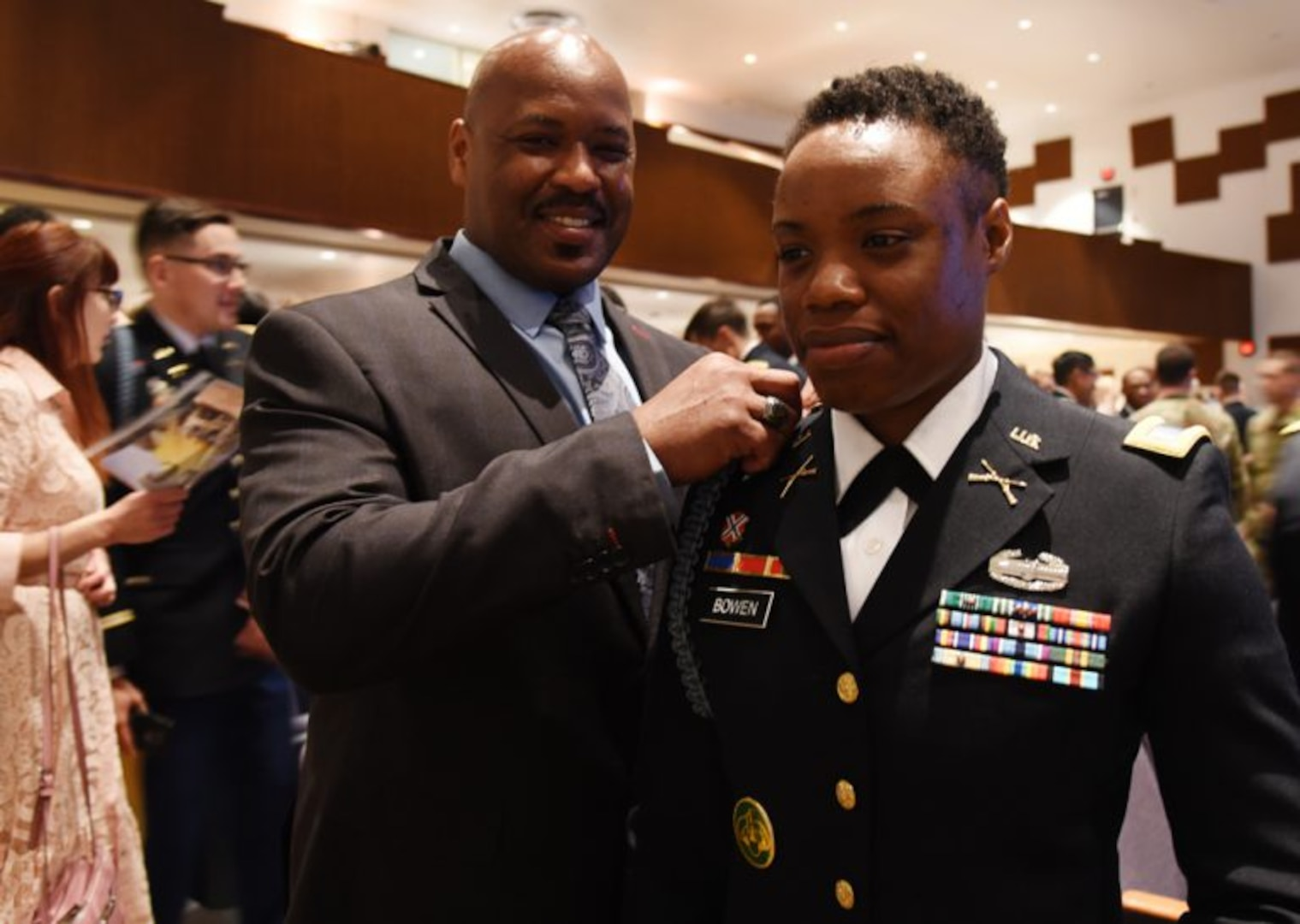 Virginia welcomes first female infantry officer