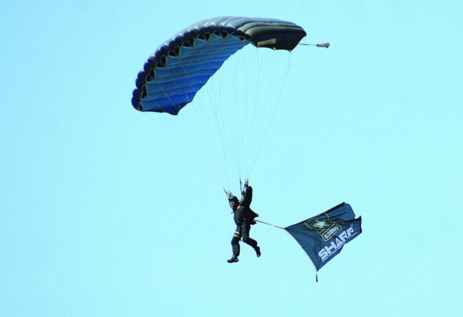 Fort Pickett drop zone serves as location for unconventional SHARP training