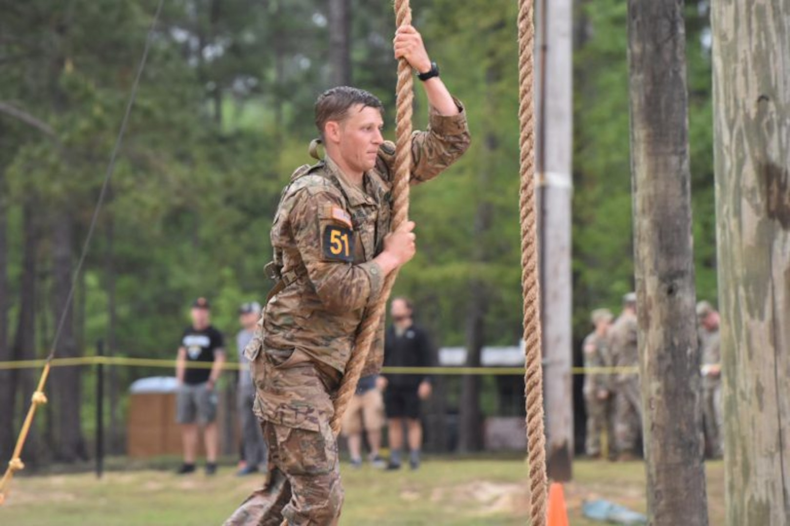 VNG rangers test their limits at Best Ranger Competition
