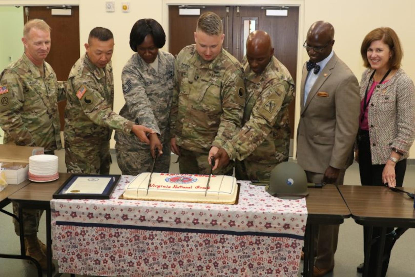 Ceremony celebrates 412th birthday of VNG, Jamestown
