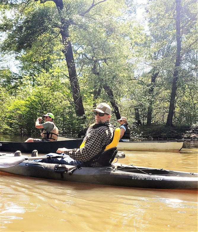 Photos are of the water trails located in Arkansas.