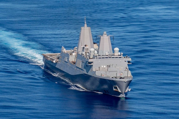 USS New Orleans Participates in ARC