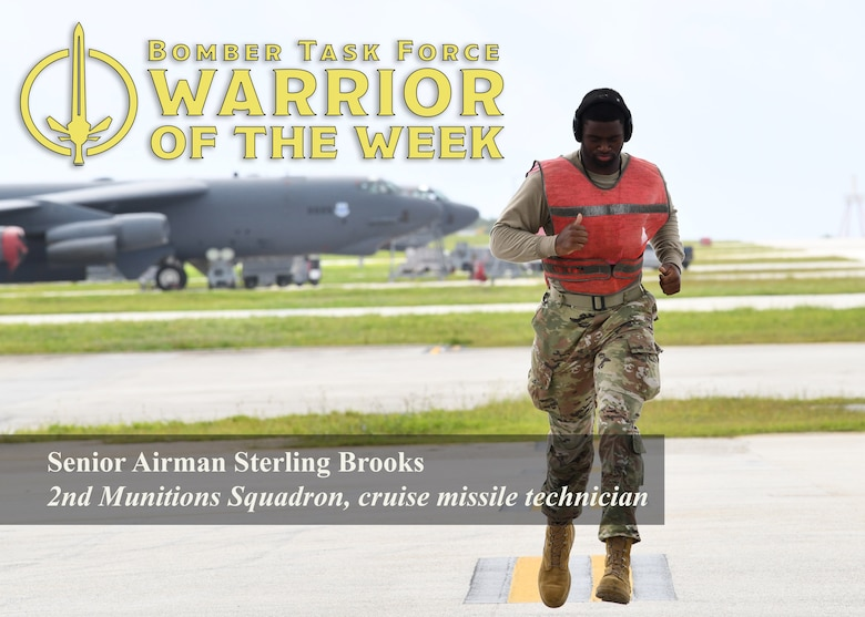 Graphic announcing the selection of an outstanding Airman