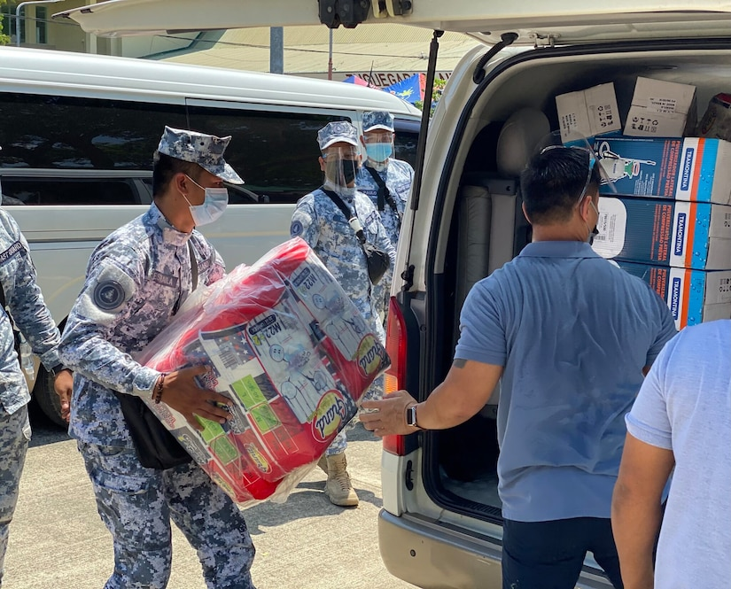U.S. Military Provides Additional Php5.7 Million in PPE to Support Philippine COVID-19 Response